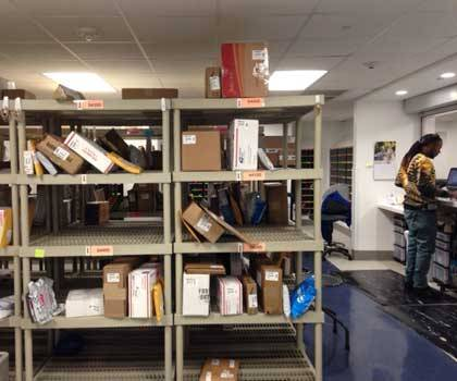 Student mail boxes in BC 1st floor extends hours through Jan. 31