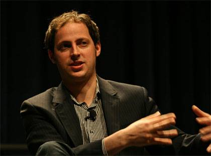Nate Silver at a 2009 conference.  Image by Randy Stewart from Wikimedia Commons.