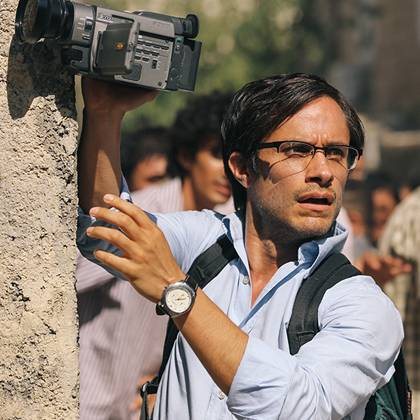 Gael Garcia Bernal stars as Canadian-Iranian journalist Maziar Bahari.