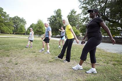 Duke's Run/Walk Club is just one of the free programs offered to employees that helps faculty and staff find work-life balance. That was one of nine categories in which Duke was recognized in the Chronicle of Higher Education's