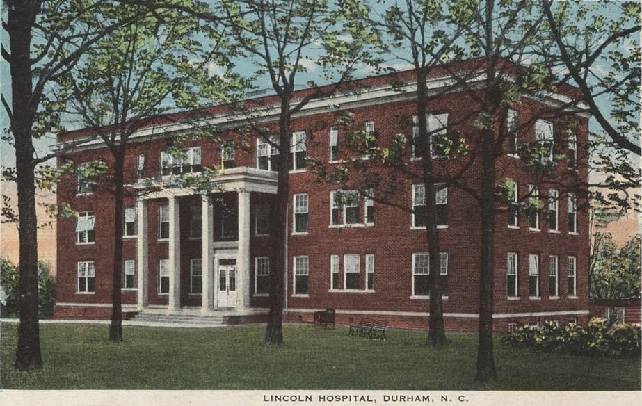 Postcard Image of Lincoln Hospital