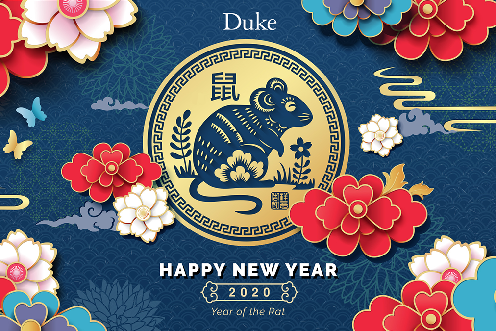 Duke Card for the Year of the Rat