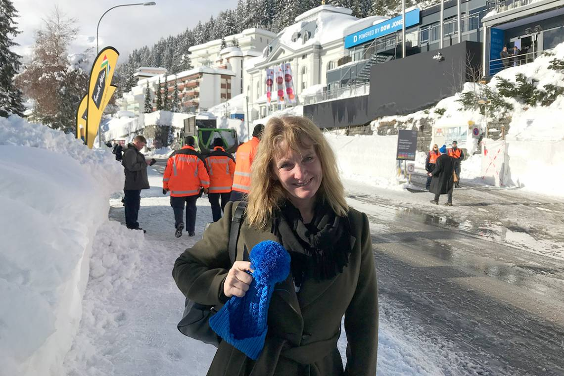 Pratt Professor Missy Cummings discussed the future of artificial intelligence at the Davos forum.