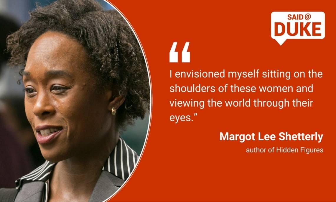 Margot Shetterly on the women who inspire her