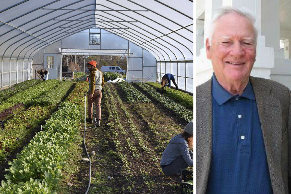 OLLI's spring courses includes a look at the Duke Campus Farm and noted journalist Walter Mears following the mid-term elections.