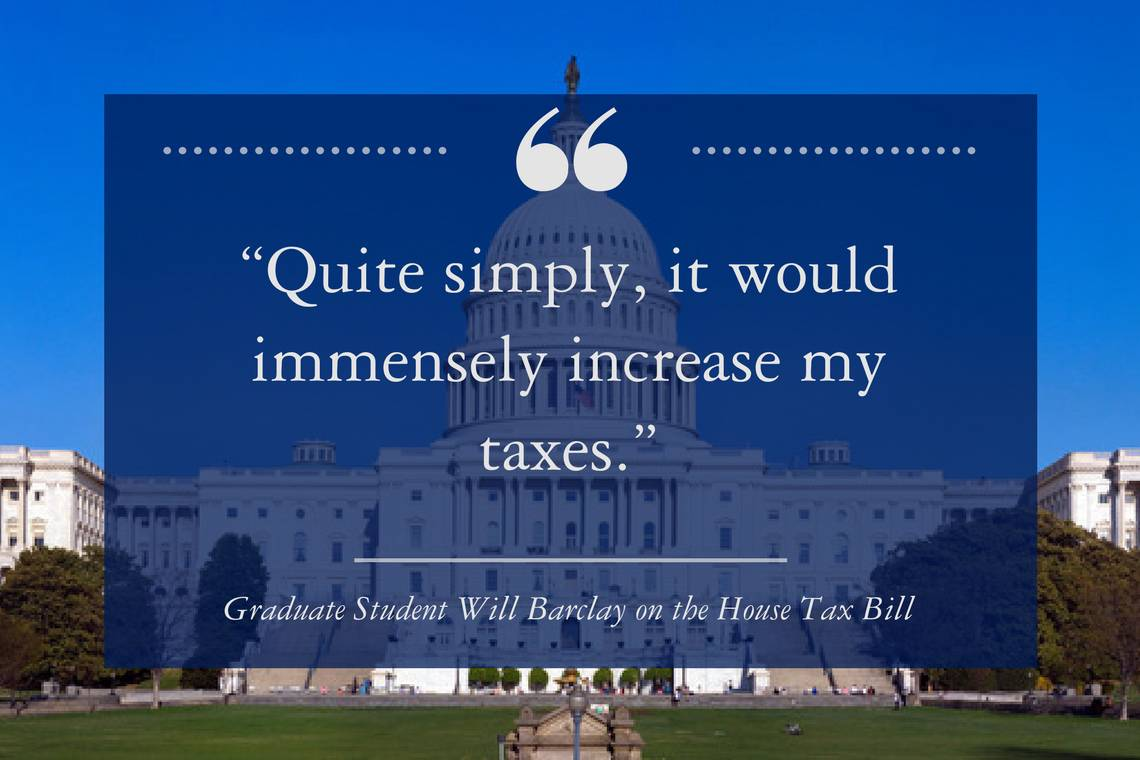 Will Barclay: Quite Simply, it would immensely increase my taxes.