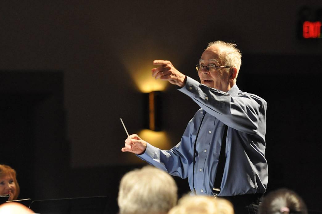 The Duke Wind Symphony will celebrate Paul Bryan's birthday Thursday. Photo courtesy Department of Music.