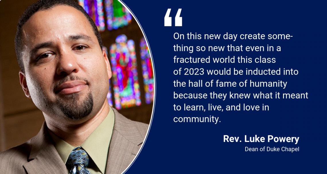 Rev. Luke Powery: