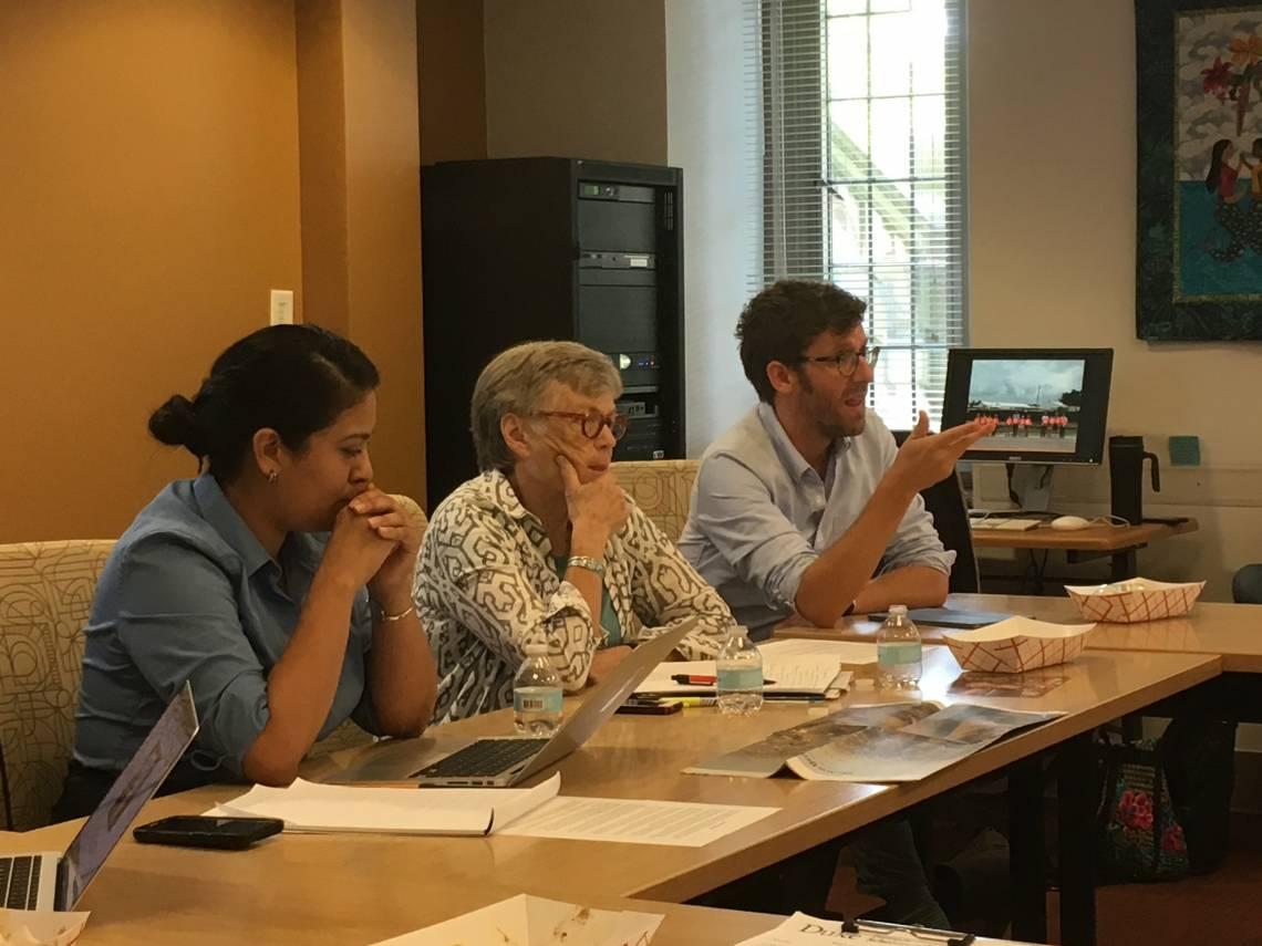 Panel examines plight of refugees worldwide