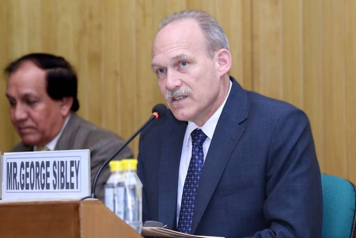 George Sibley, diplomat in residence