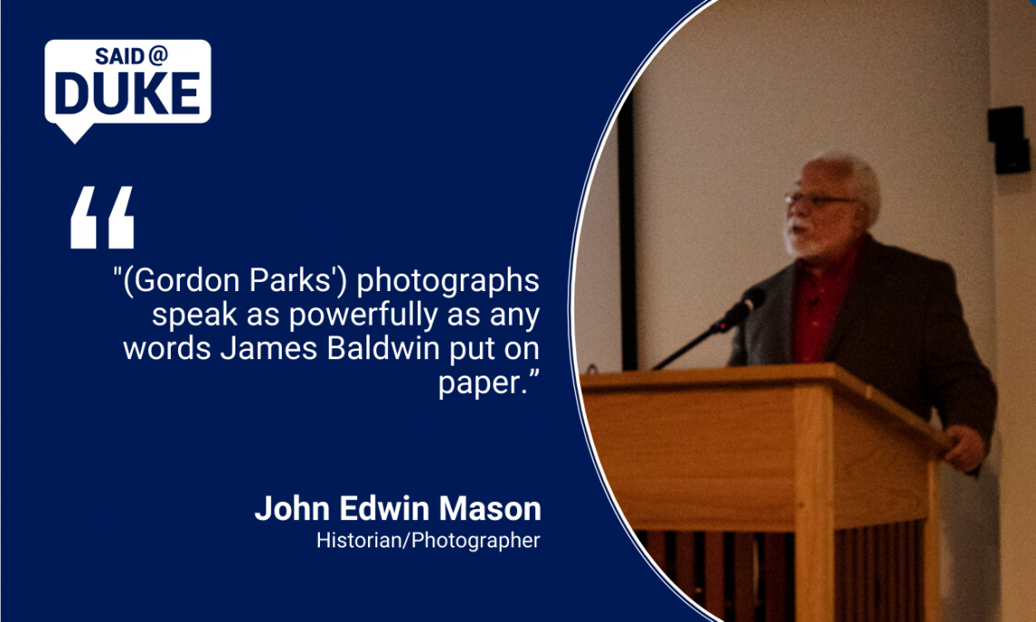 """His photographs speak as powerfully as any words James Baldwin put on paper."" — Photographer/historian John Edwin Mason"