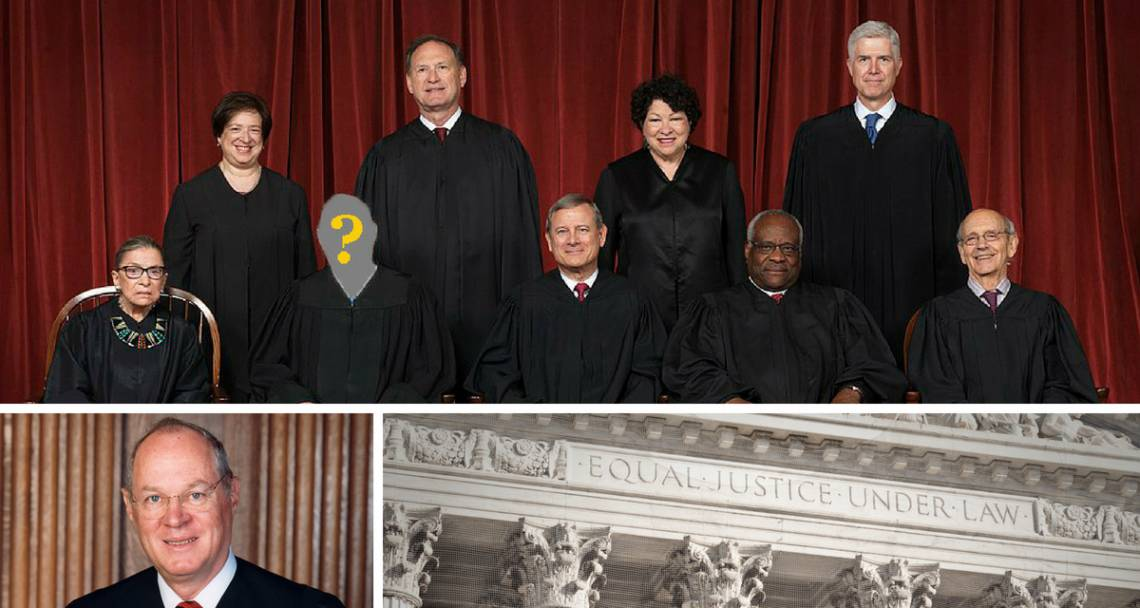 Politicians are already fighting over who will succeed Supreme Court Justice Anthony Kennedy.