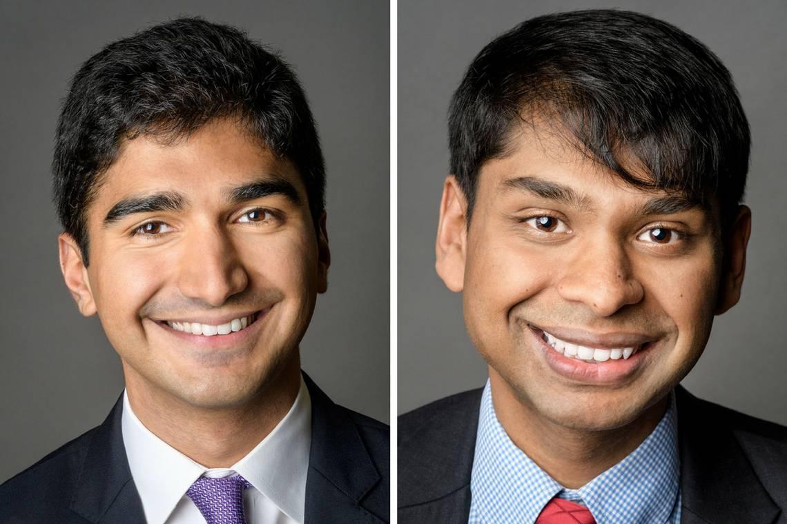 Kaveh Danesh and Sanjay Kishore will do graduate study with a Soros Fellowship.