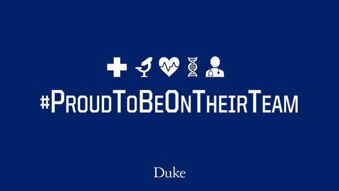 Duke Among More Than 50 Athletic Programs Uniting to Promote Pandemic Response
