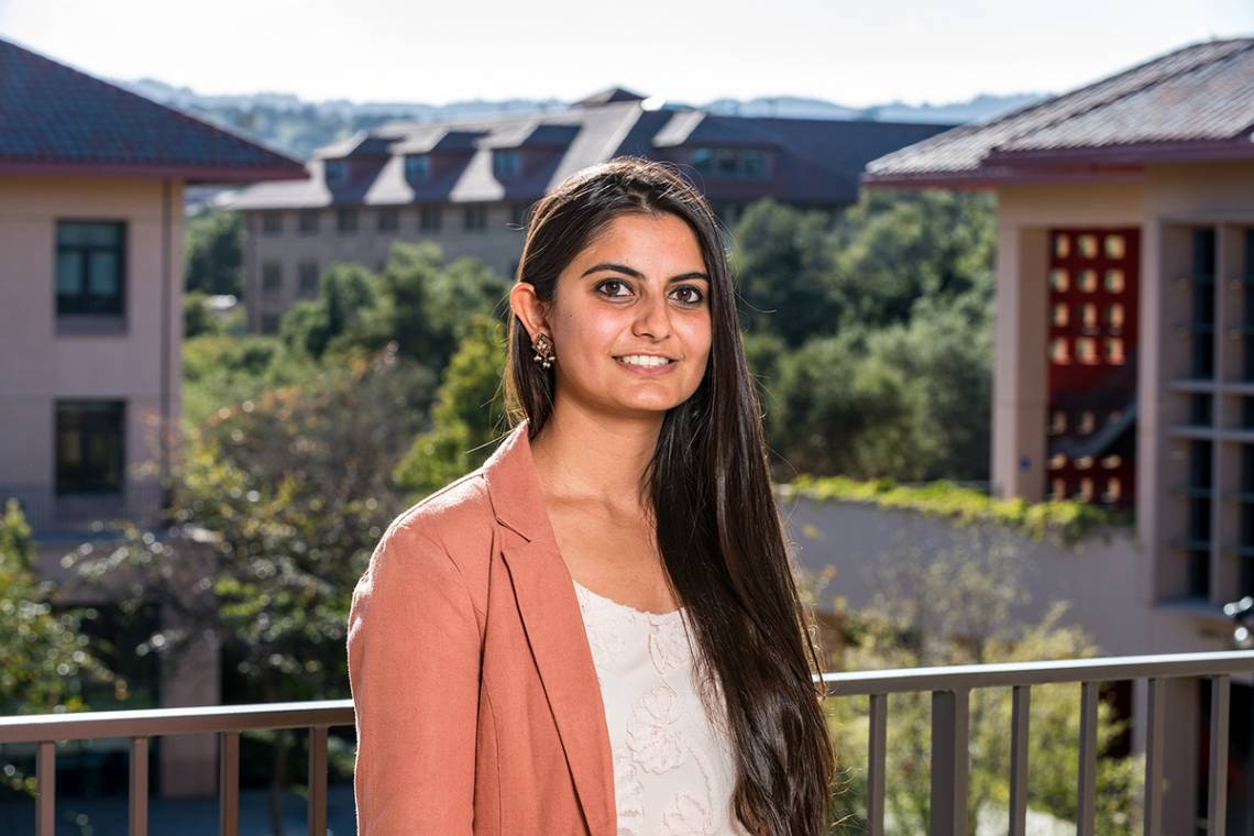 Suhani Jalota will study health policy at Stanford University.