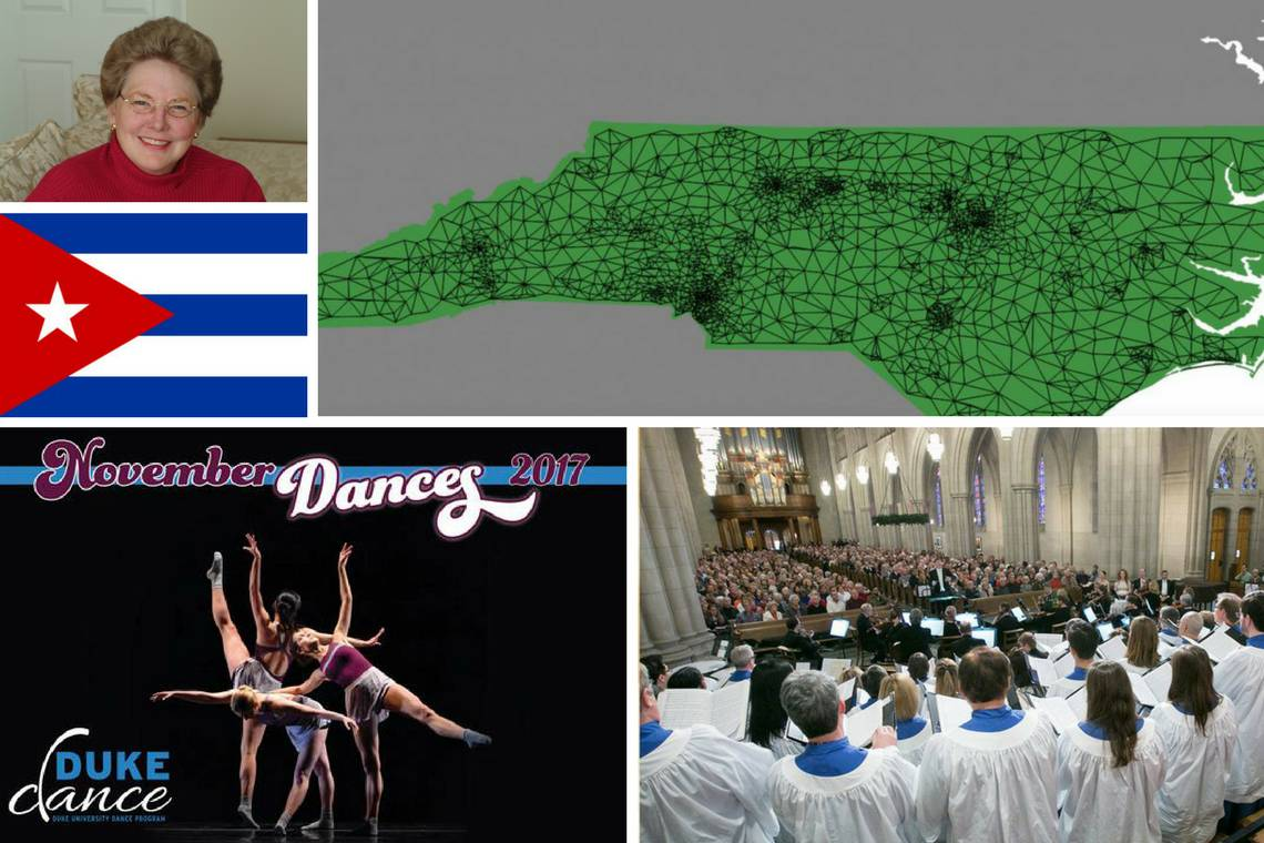 Katherine Hayles, Cuba talk, November dances