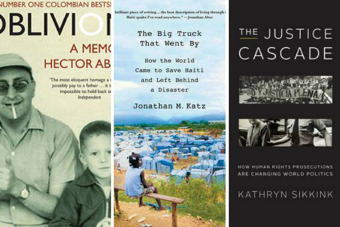 Past winners of the Mendez Book Award