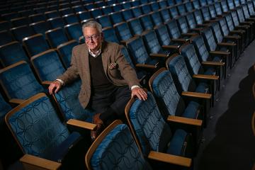 Tallman Trask in Baldwin Auditorium
