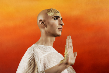 Anthony Roth Costanzo as Akhnaten.