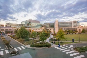 Exterior image of Duke Hospital