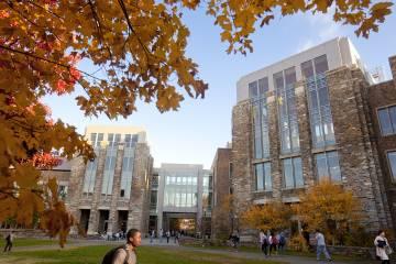 The Pratt School entrance at the CIEMAS building.