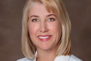 Barbara Griffith, new president of Duke Raleigh Hospital
