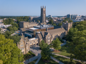 West Campus aerial photo