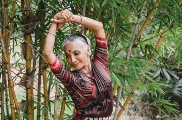 Odissi dance master  Bijayini Satpathy