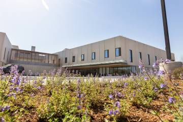 The Duke Behavioral Health Center building.