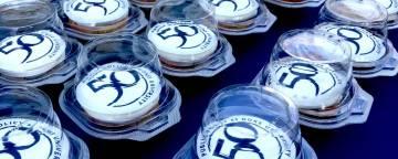 50th anniversary cupcakes for sanford school