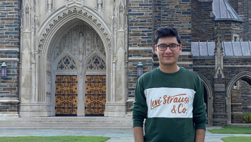 With multiple summer internship offers rescinded, Abhishek Sathe is one of many students who took advantage of the new Summer Industry Projects Program (SIPP), which provides students opportunities to work remotely and gain real-world experience