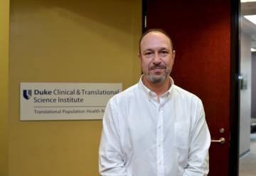Andy Yoos volunteer for the CTSI registry