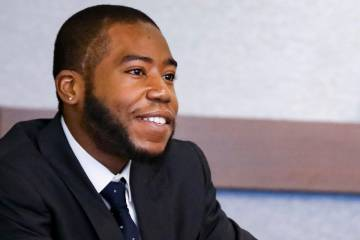 Duke Law student Bryant Wright