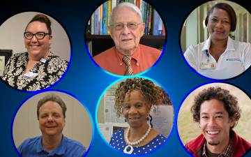 For Duke Appreciation in May, staff and faculty with 10 to 55 years of service share what they appreciate about Duke.