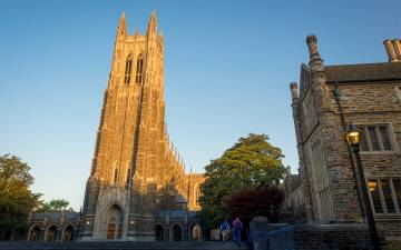 Duke Chapel at Sunrise