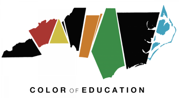 Logo for Color of Education conference
