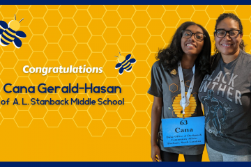 Cana Gerald-Hasan, durham spelling bee champ 2021