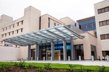 new south pavilion at Duke Raleigh Hospital