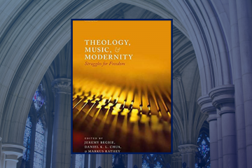 book cover for Begbie book on theology and music