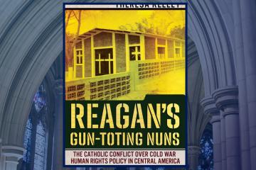 book cover of Reagan's. Gun Toting Nuns