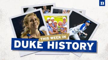 The Week in Duke athletics history logo