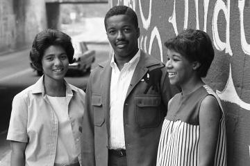 Three of the first five Duke Black undergraduates