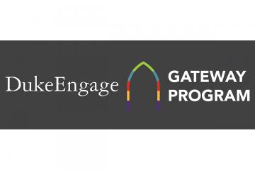 graphic for the DukeEngage Gateway Program