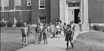 George Watts Elementary School, 1970