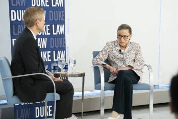 Justice Ginsburg Reflects On Longevity, Collegiality and Partisan Confirmations