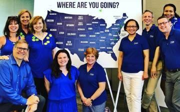 Employees in Duke Alumni Affairs.