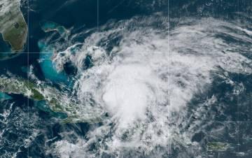 Hurricane Isaias, July 31, 2020. Image courtesy of NOAA.