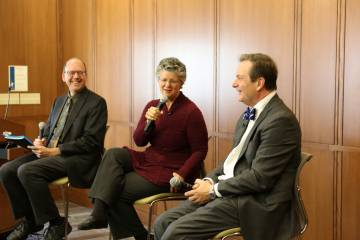 Ed Balleisen, Julia Reidhead and Dean Smith discuss the business of books.