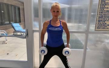 Jessica Bolz is an aquatics specialist for the Duke Diet & Fitness Center. Photo courtesy of Jessica Bolz.