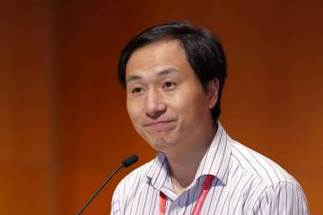 Dr. He Jiankui announced he had used CRISPR to edit genes in twin embryos that were then born at full term.